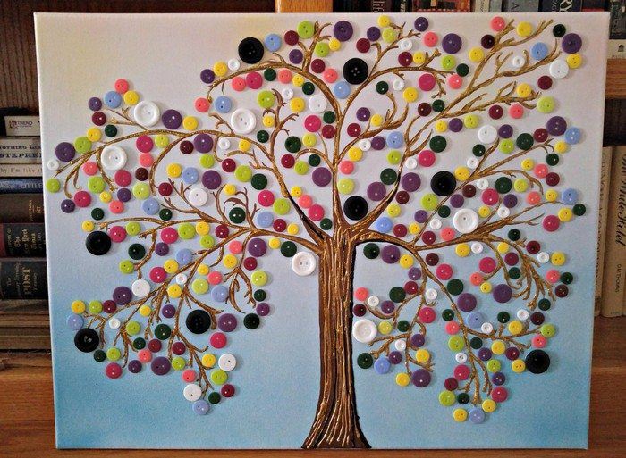 Wall Decoration Tree Painting: Craft Projects For Every Fan