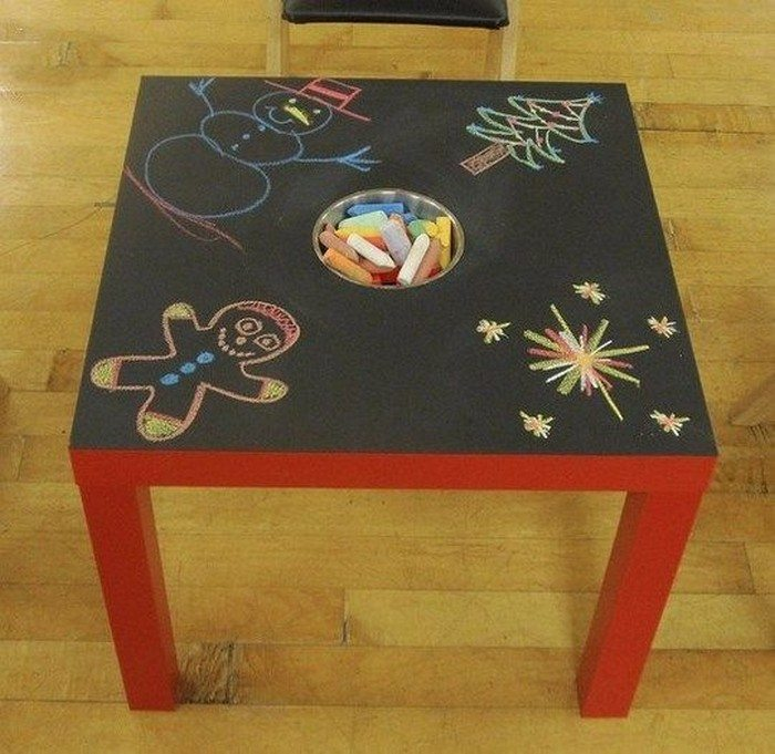Make your own chalkboard paint craft projects for every fan for Chalkboard paint ideas