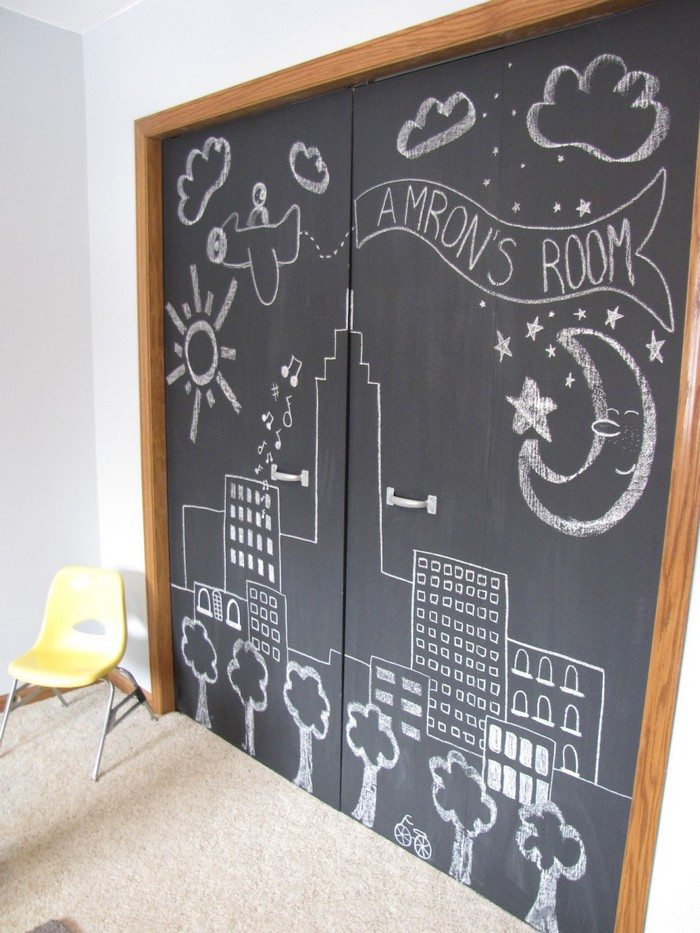Make your own chalkboard paint craft projects for every fan for Chalkboard paint surface ideas
