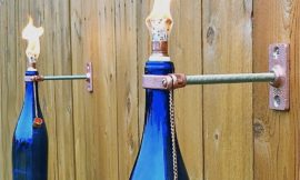 Glass Bottle Torch