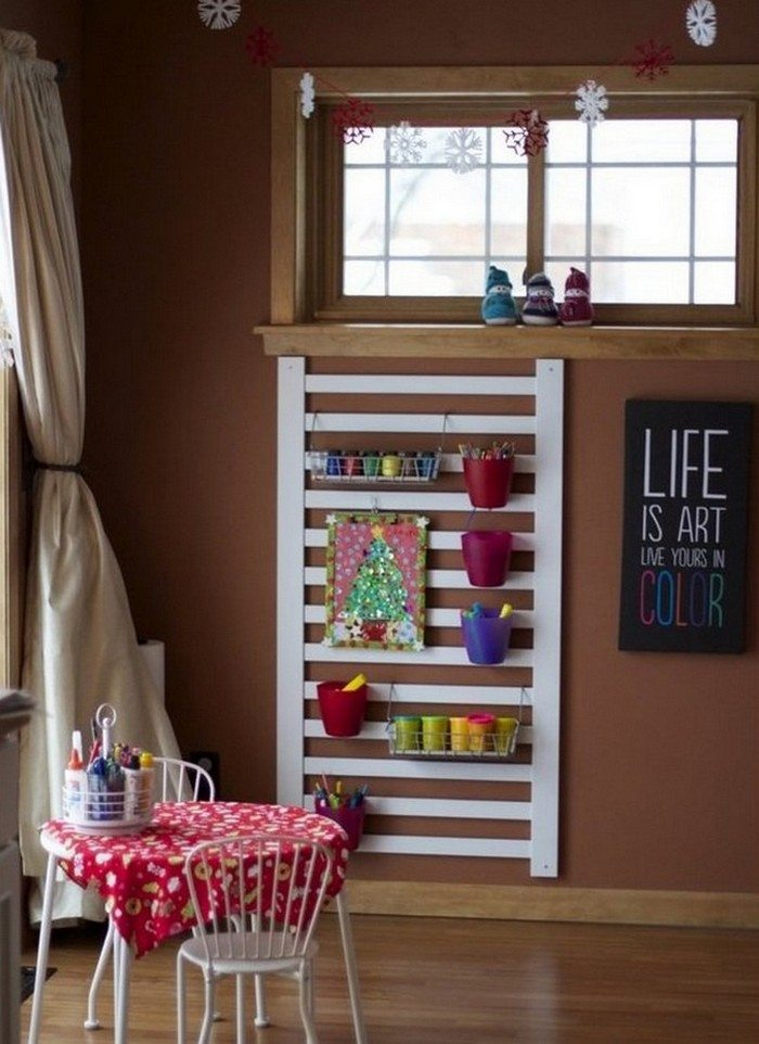 Repurposed Baby Cot Ideas