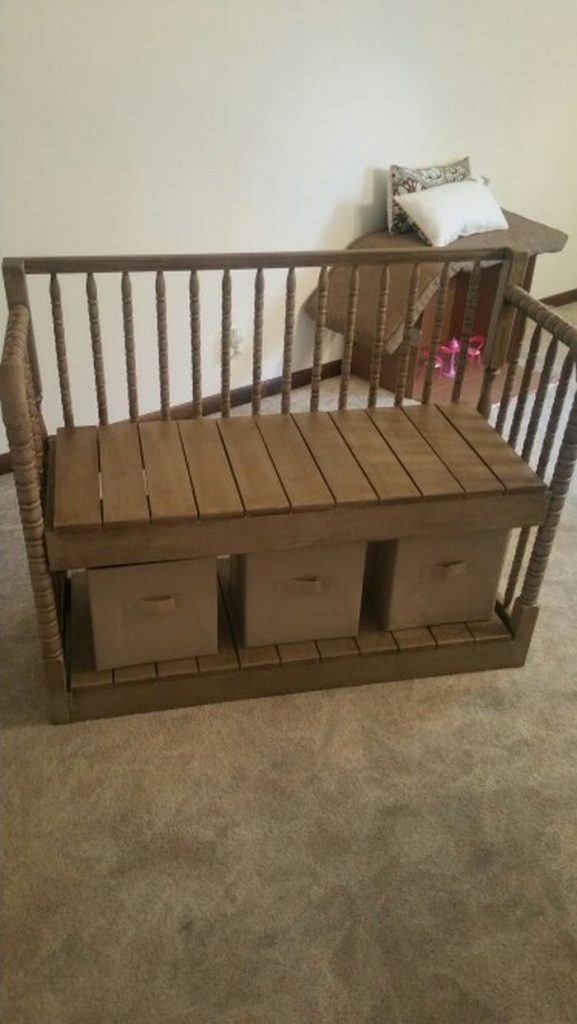 Repurposed Crib Ideas