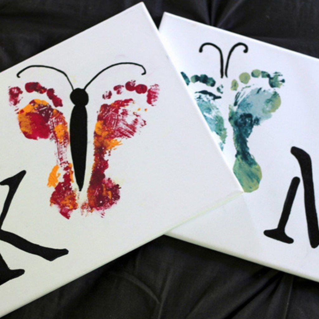 Hand and Footprint Art