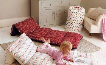 Pillow beds.
