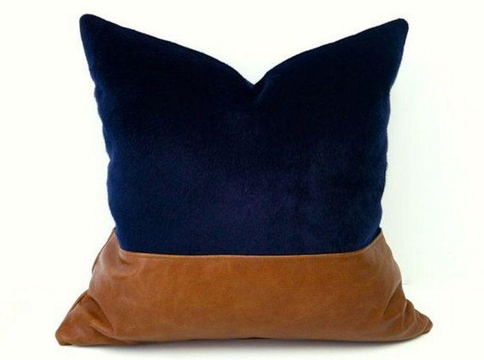 Color Block Pillows