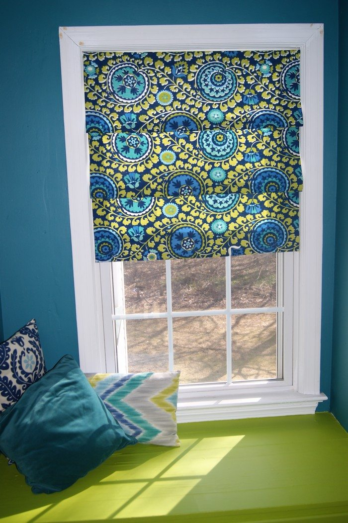 How To Turn Old Window Blinds Into Roman Shades Craft