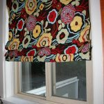 DIY No Sew Roman Shades