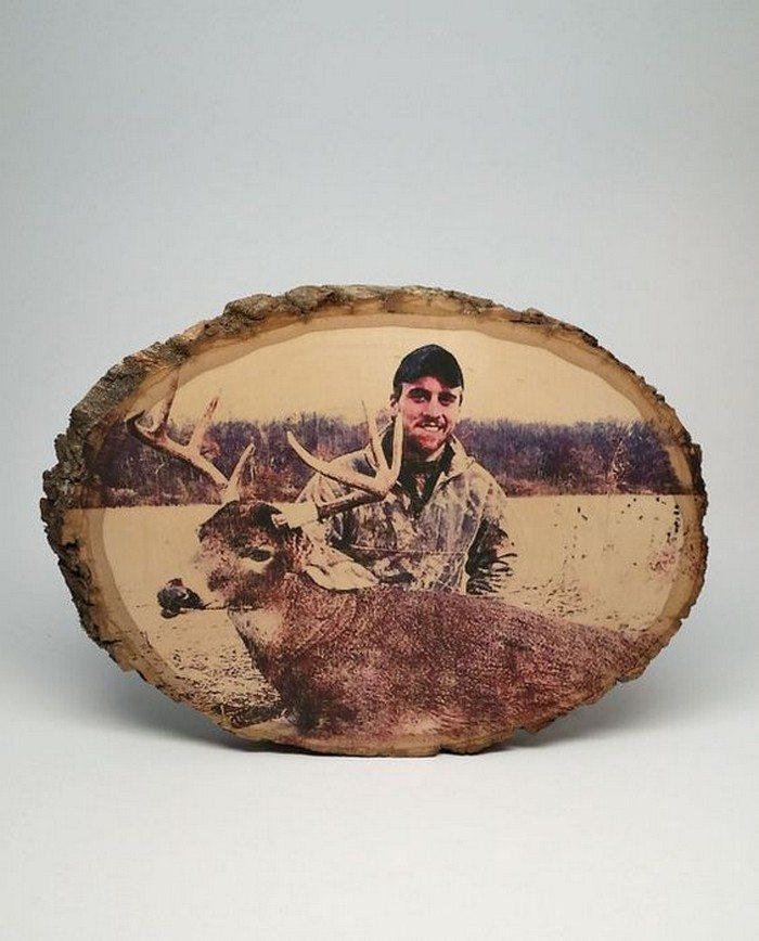DIY Photo on Wood