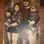 DIY Photo on Wood
