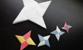 Shuriken/Ninja Star Origami