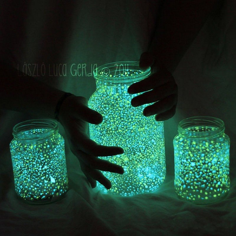 DIY Glow in the Dark Jar