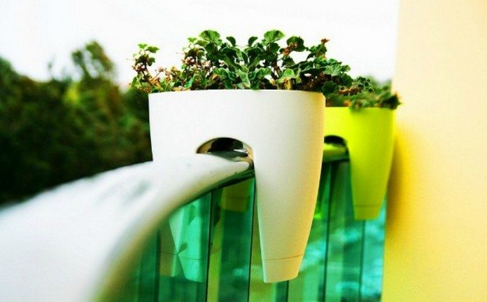 Space-saving planter ideas
