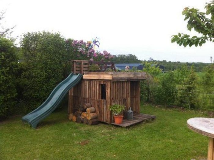 Have You Built A DIY Outdoor Playhouse For Your Kids? Why Not Share It With  Us? :)