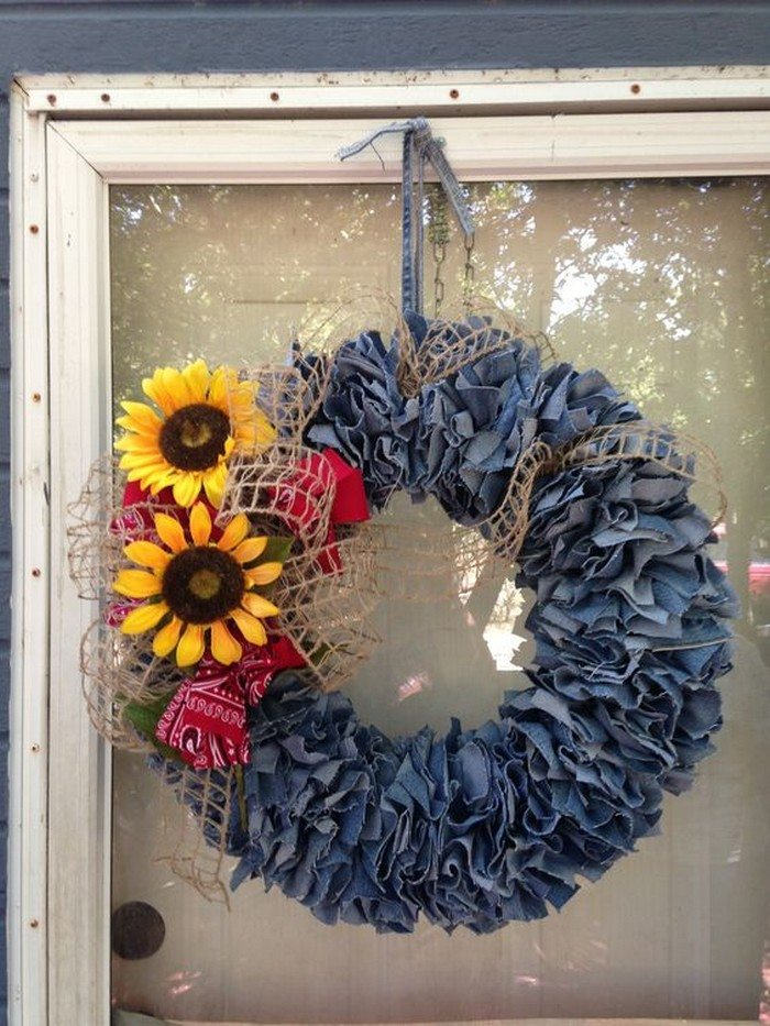 21 Ways To Repurpose Denim Jeans Craft Projects For