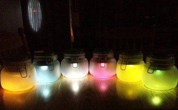 DIY Mason Jar Solar Lighting