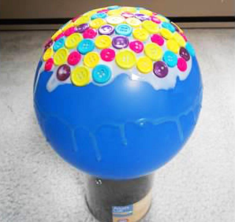 stick buttons - button bowl