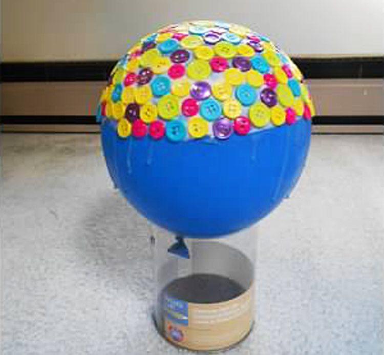dry glue - button bowl