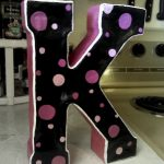3D Cereal Box Letters