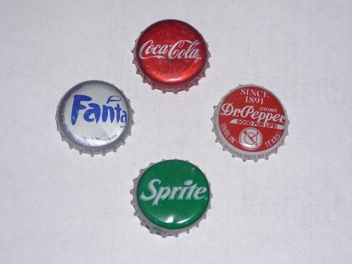 Bottle Cap Fridge Magnets