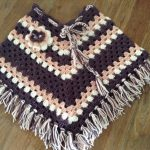 Crocheted Poncho for Kids