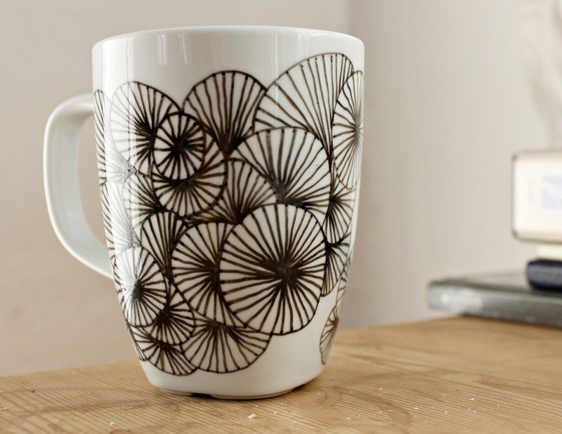 About Using A Pen Here Are A Few Other Ways To Decorate Your Mugs