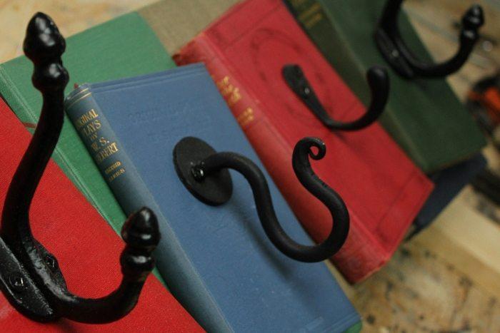 Book Coat Rack