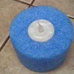 Pool Noodle Candle Holder