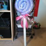 Pool Noodle Lollipop Decor