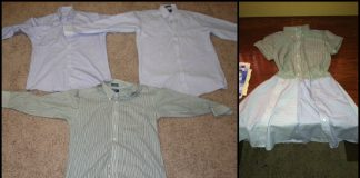 Upcycled-Mens-Shirt-To-Dress-Montage