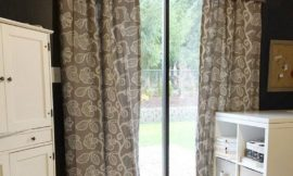 Lower your energy bill with DIY insulated curtains