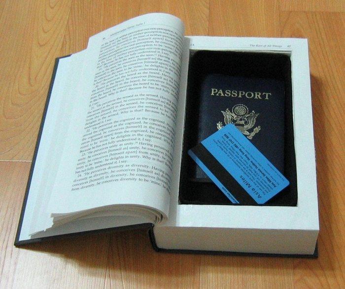 Secret Book Compartment