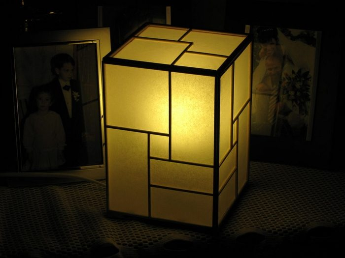 DIY Japanese Lamp