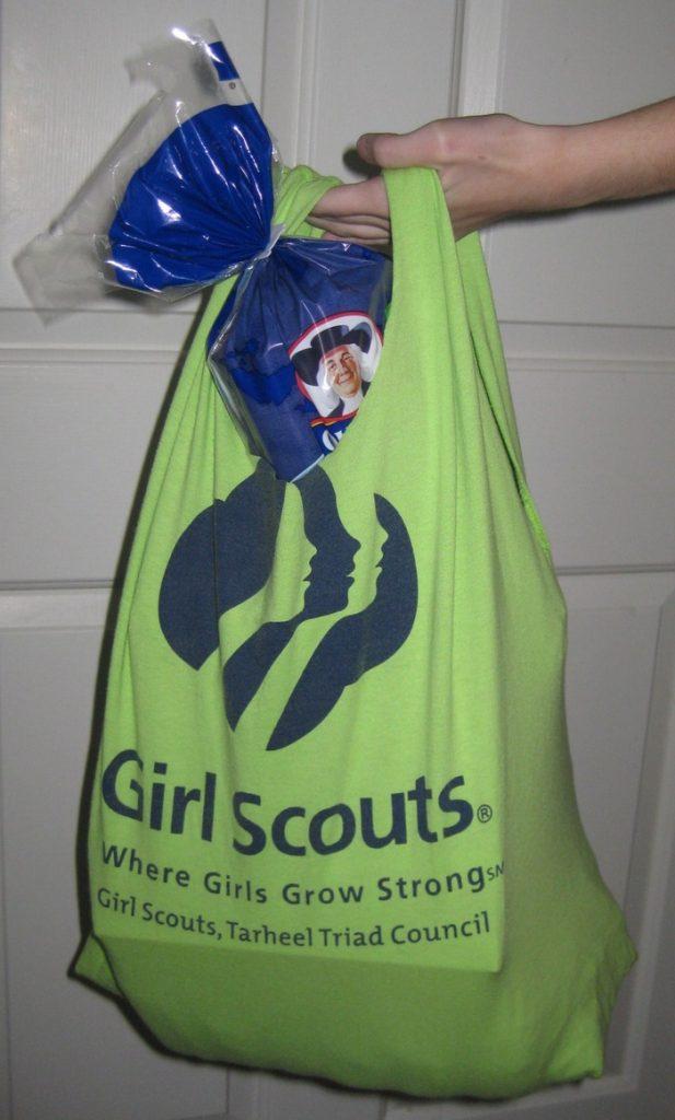 Upcycled T-Shirt Market Bag