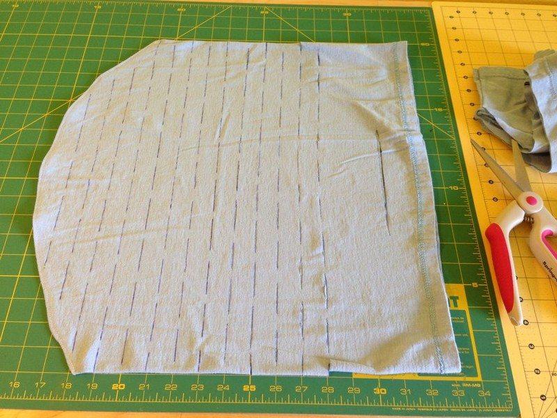 Upcycled Tshirt Market Bag
