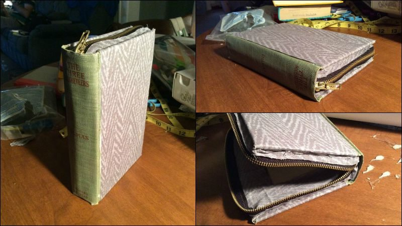 Book Clutch Covered Cover