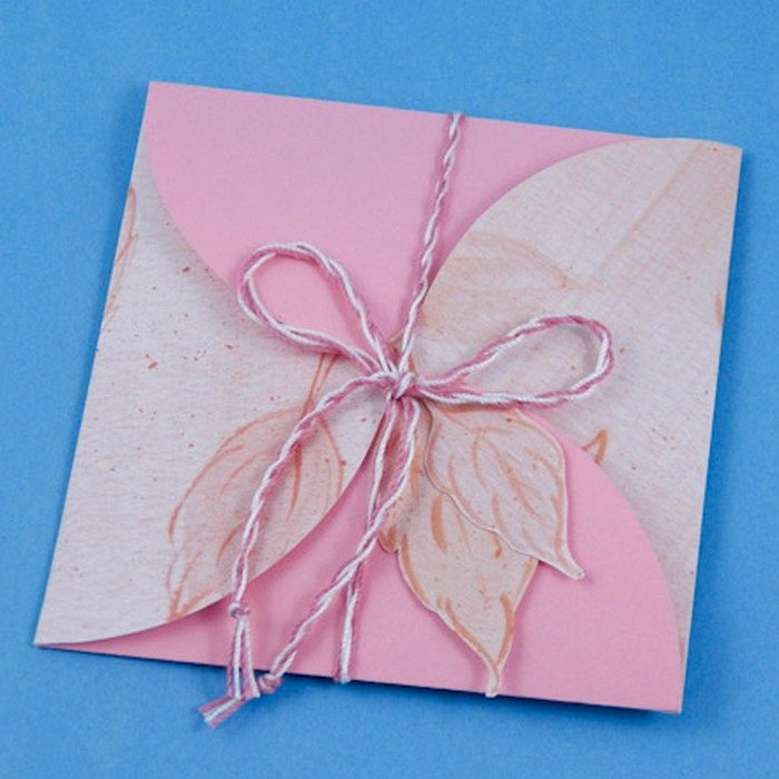 how to make a greeting card envelope