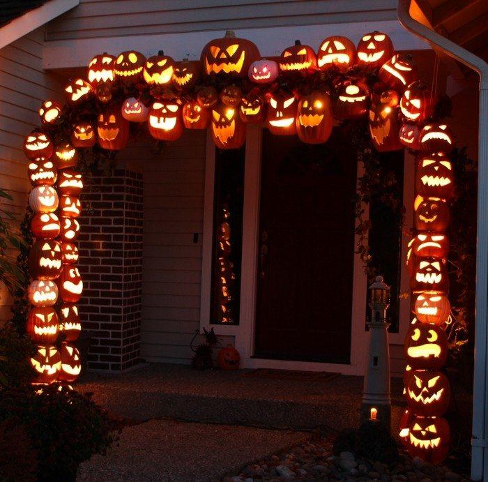 Front Door Halloween Decor