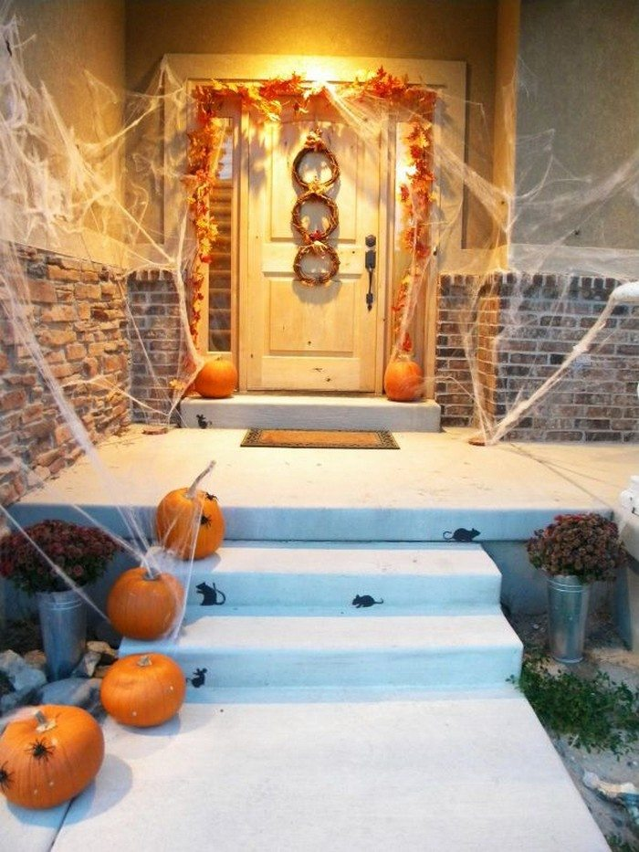 Front Door Halloween Decor