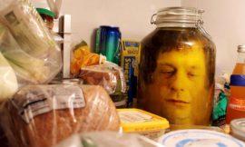 Head in a jar!