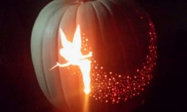 Tinker Bell Pumpkin Carving