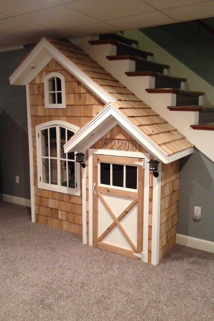 Under The Stairs Indoor Playhouse
