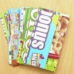 Upcycled Cereal Box Business Cards