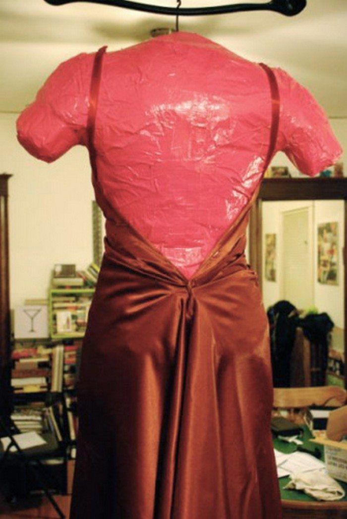 How To Make Your Own Sewing Mannequin From Duct Tape