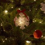 Crystal Snowflake Ornaments