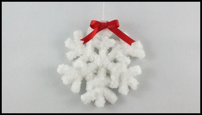 Crystal Snowflake Ornaments Main Image