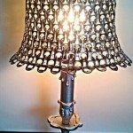 DIY Soda Pop Tab Lamp Shade