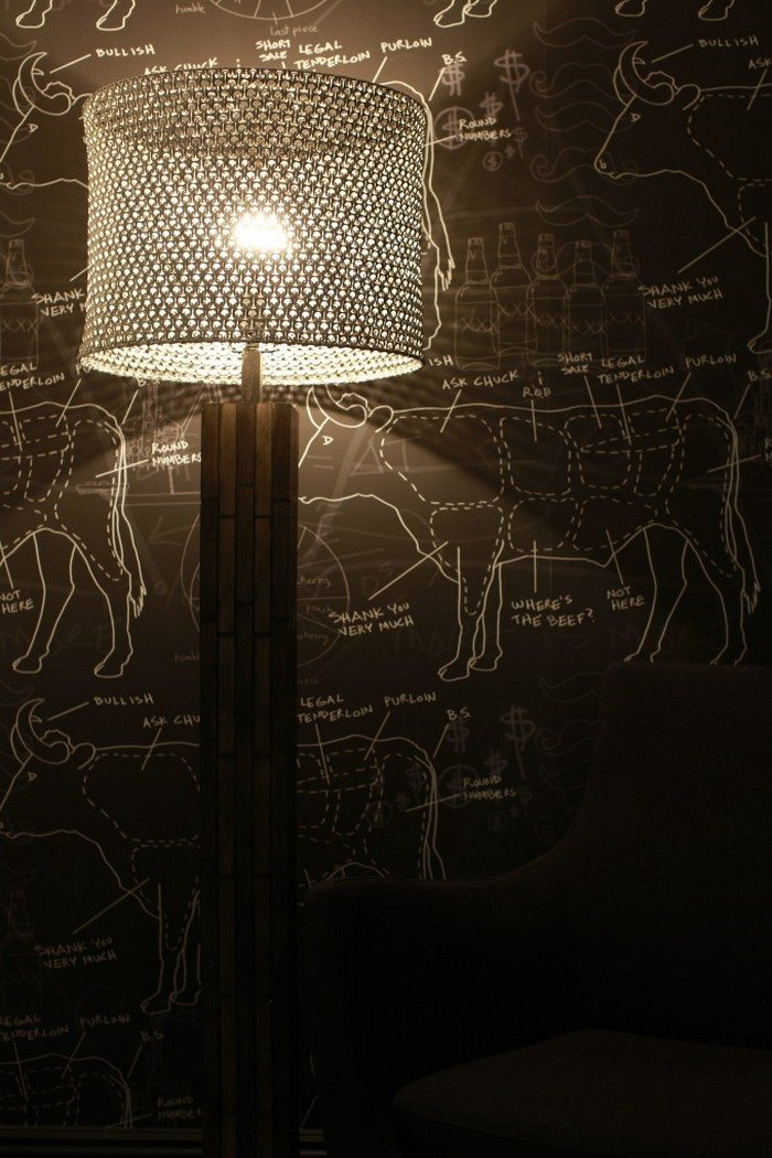 Soda Pop Tab Lamp Shade