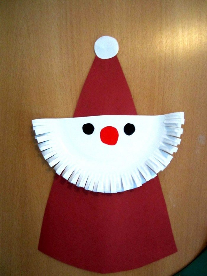 make christmas characters from paper plates craft. Black Bedroom Furniture Sets. Home Design Ideas