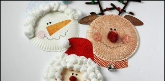 Paper Plates Christmas Characters Main Image