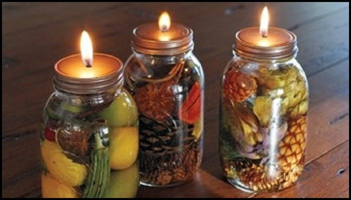 Scented Mason Jar Candle Main Image
